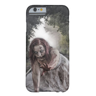 Cool Zombie Girl Barely There iPhone 6 Case
