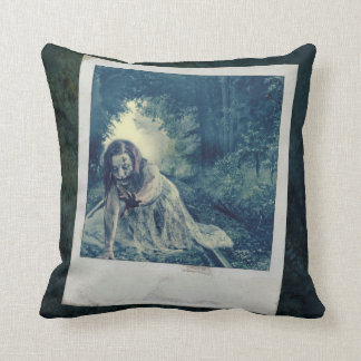 Cool Zombie Girl Pillow