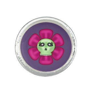 Cool Zombie Skull Flower