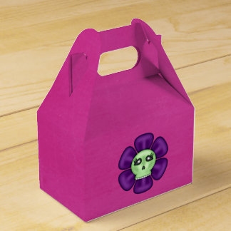 Cool Zombie Skull Flower Favour Box
