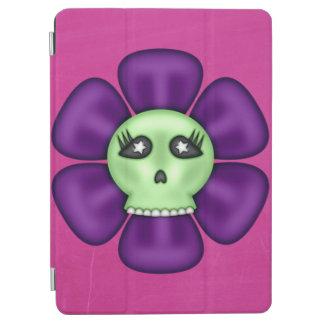 Cool Zombie Skull Flower iPad Air Cover