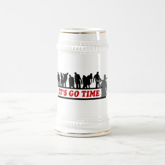Cool ZOMBIES It's go time design Beer Steins