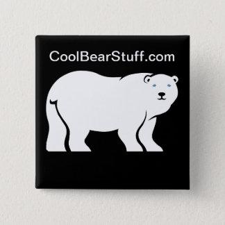 CoolBearStuff.com 15 Cm Square Badge