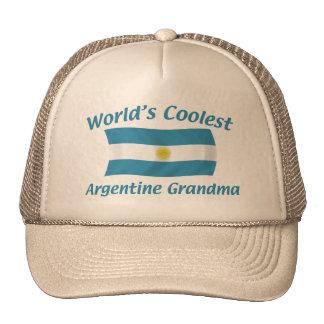Coolest Argentine Grandma Cap