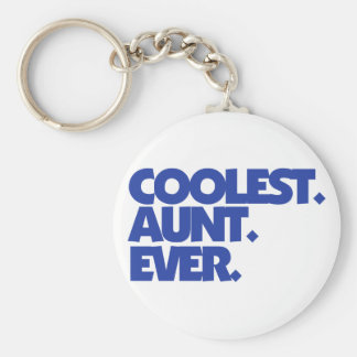 Coolest Aunt Ever Key Ring
