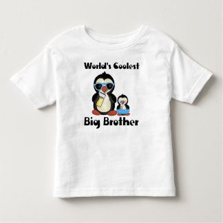 Coolest big brother penguin t shirts