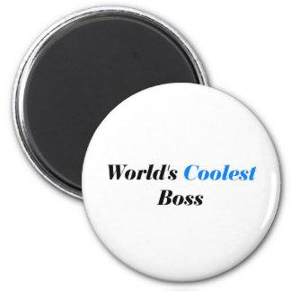 Coolest Boss Fridge Magnets