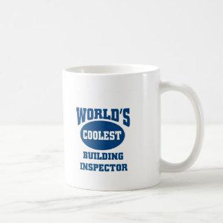 Coolest Building inspector Basic White Mug