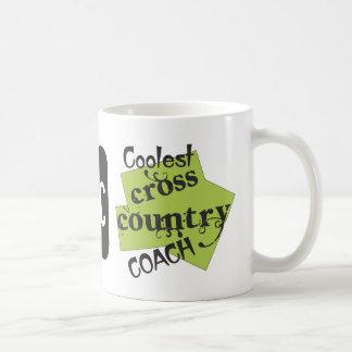 Coolest Cross Country Coach Basic White Mug