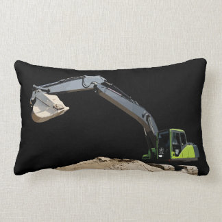 Coolest Double Sided Excavator Pillow