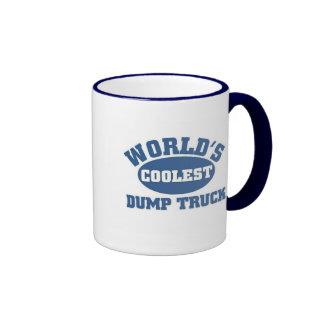 Coolest Dump Truck Ringer Mug
