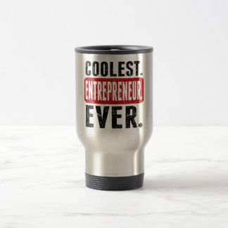 Coolest. Entrepreneur. Ever. Stainless Steel Travel Mug
