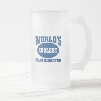Coolest Film Director Frosted Glass Mug