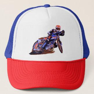 Coolest Flat Track Speedway Motorcycle Trucker Hat