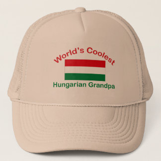 Coolest Hungarian Grandpa Trucker Hat