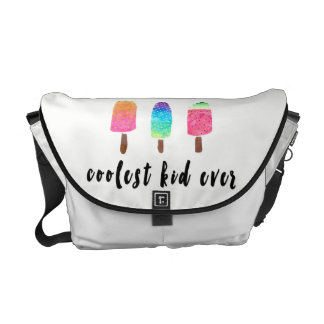 Coolest Kid Ever Colorful Popsicles Diaper Commuter Bag