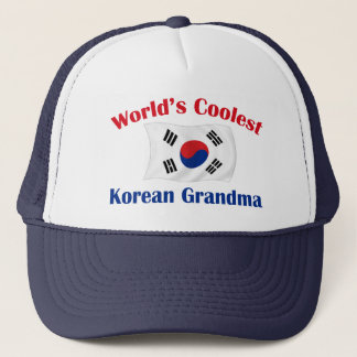Coolest Korean Grandma Trucker Hat