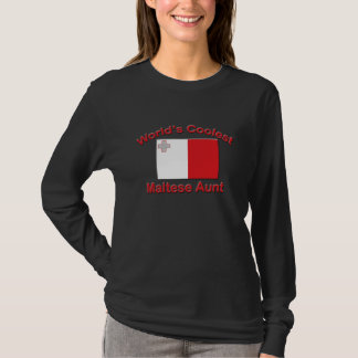 Coolest Maltese Aunt T-Shirt