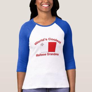 Coolest Maltese Grandma T-Shirt