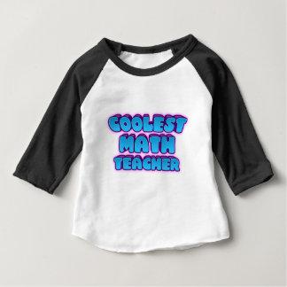 coolest math teacher baby T-Shirt