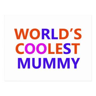 coolest mummy post card