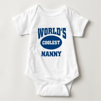 Coolest Nanny Baby Bodysuit