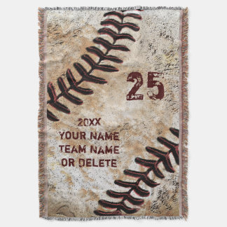 Coolest Personalised Baseball Throw Blanket