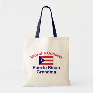 Coolest Puerto Rican Grandma Tote Bag