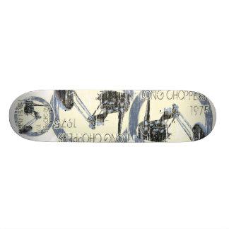 Coolest Shredded Teenage Skater's Chopper Deck Skateboard