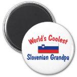 Coolest Slovenian Grandpa Magnets