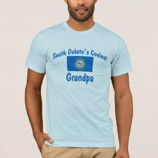 Coolest South Dakota Grandpa T-Shirt