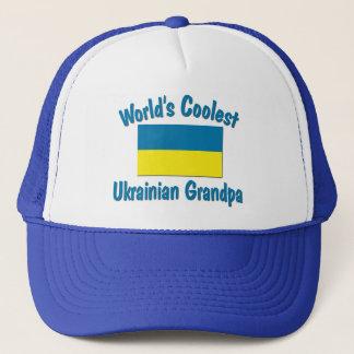 Coolest Ukrainian Grandpa Trucker Hat