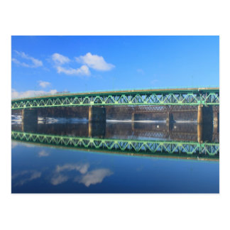 Coolidge Bridge Connecticut River Postcard
