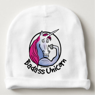 Coolly Unicorn bang-hard unicorn Baby Beanie