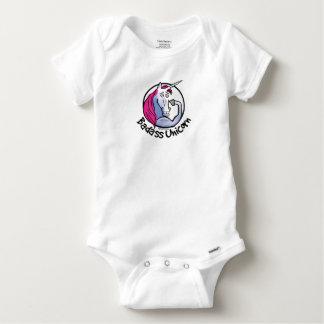 Coolly Unicorn bang-hard unicorn Baby Onesie