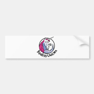 Coolly Unicorn bang-hard unicorn Bumper Sticker