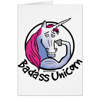 Coolly Unicorn bang-hard unicorn Card