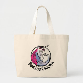 Coolly Unicorn bang-hard unicorn Large Tote Bag