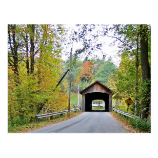 Coombs Covered Bridge Among the Trees Postcard