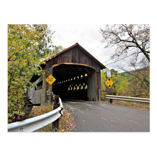 Coombs Covered Bridge in Autumn Postcard