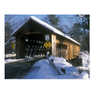 Coombs Covered Bridge Winchester NH Postcard