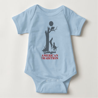 COON HUNTING BABY BODYSUIT