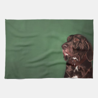 Coonhound Tea Towel