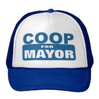 Coop For Mayor Cap