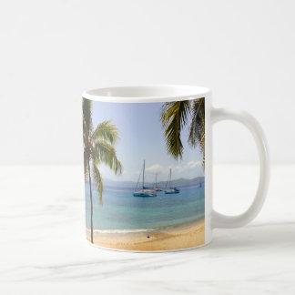 Cooper Island BVI Beach Coffee Mug