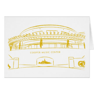 Cooper Music Hall Greeting Card