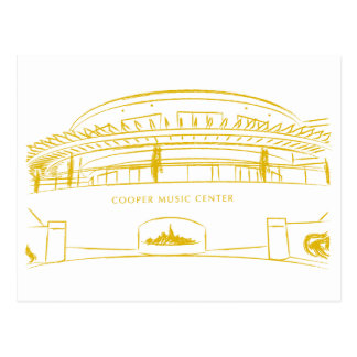 Cooper Music Hall Postcard