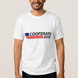 Cooperate 2016 t shirts