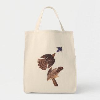 Cooper's Hawk Audubon Birds of Prey Tote Bag