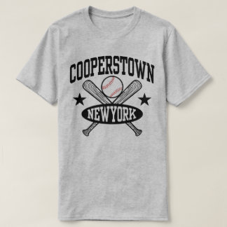 Cooperstown New York t-shirt